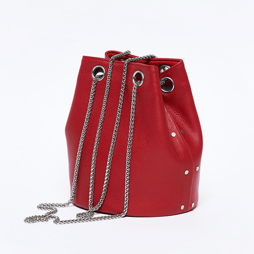 [LAIDBACK_레이드백] 12 mini bucket / red