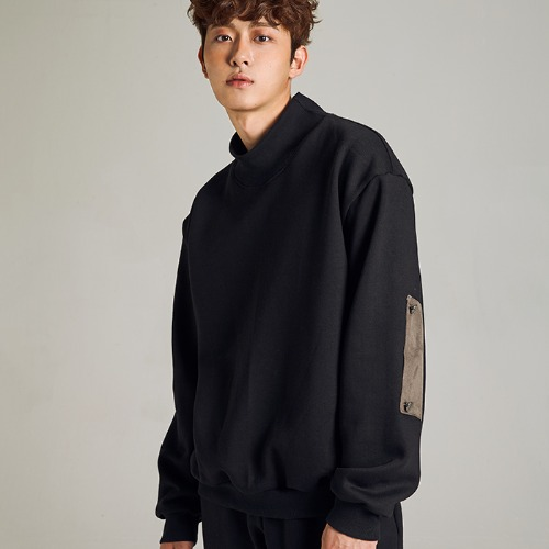 [MINU 마이누] [기모]FREEDOM sweatshirts[Black]