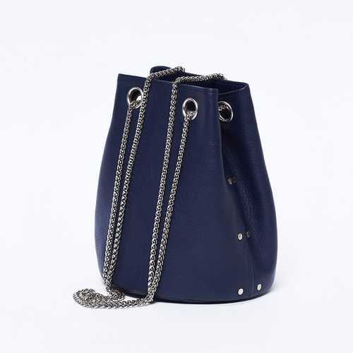 [LAIDBACK_레이드백] 12 mini bucket / navy blue