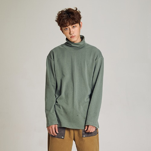 [MINU 마이누] High neck T-shirt