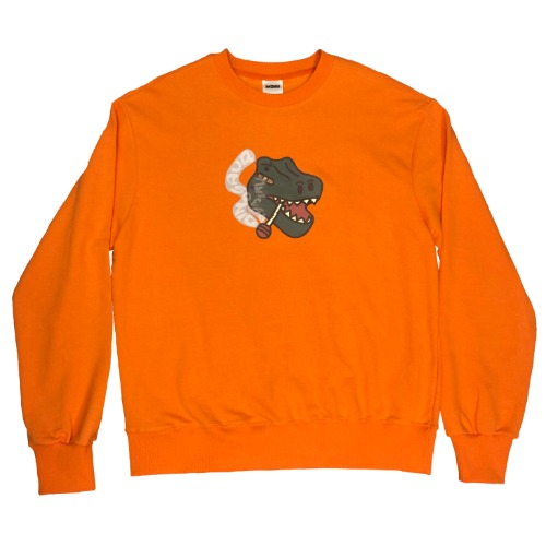 [MINU 마이누] CANDY sweatshirts[Orange]
